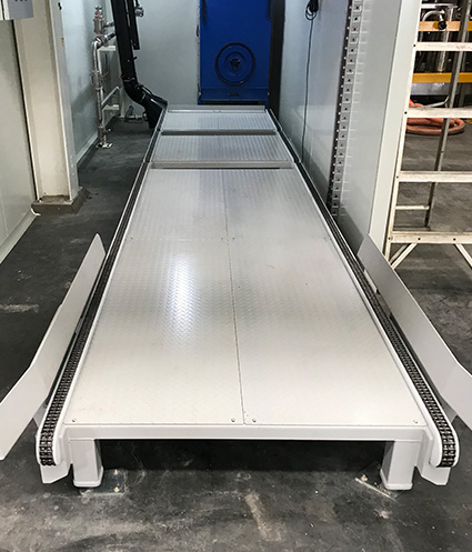 Automated & Powered Roller Conveyor Systems   Powered Turntable